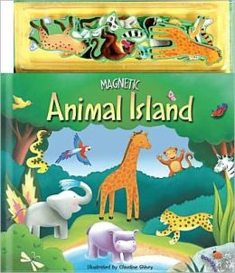 Magnetic Animal Island Story & Play Book: Animal Island