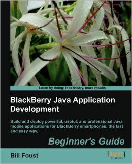 Blackberry Sdk 4.5 Java Application Development