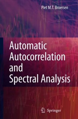Automatic Autocorrelation and Spectral Analysis