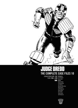 Judge Dredd: The Complete Case Files 10