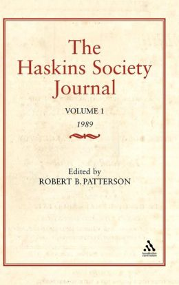 Haskins Society Journal Studies In Medieval History