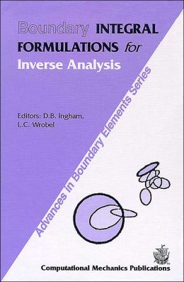 Boundary Integral Formulations for Inverse Analysis