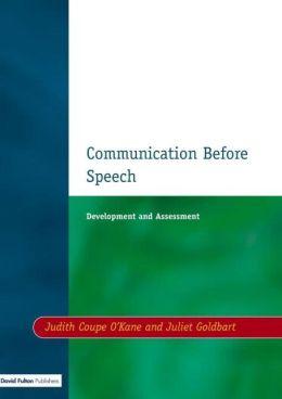 Communication Before Speech