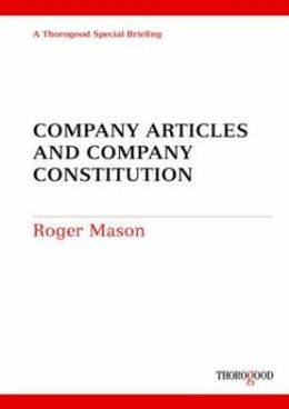 Company Articles and Company Constitution