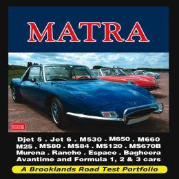 Matra Road Test Portfolio
