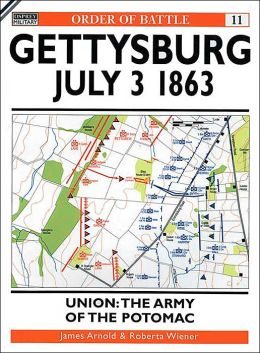 Gettysburg July 3 1863: Union: The Army of the Potomac