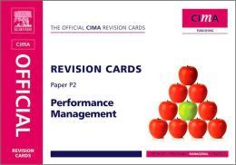 CIMA Revision Cards Performance Management