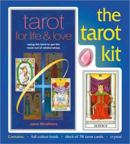 Tarot Kit: Using the Tarot to Get the Most Out of Relationships-Include a Pack of Tarpt Cards, A Rose Quartz Crystal, and Book