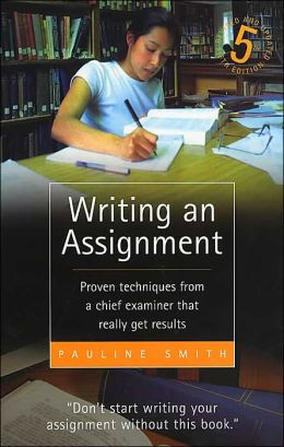 Writing an Assignment 5e