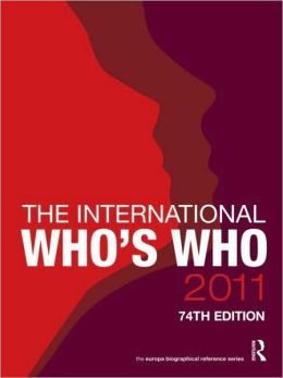The International Who's Who 2011