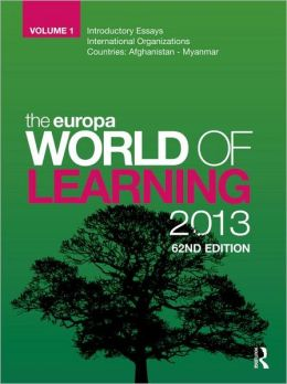 The Europa World of Learning 2013