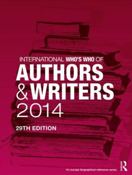 International Who's Who of Authors and Writers 2014