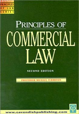 Principles on Commercial Law (Principles of Law Series)