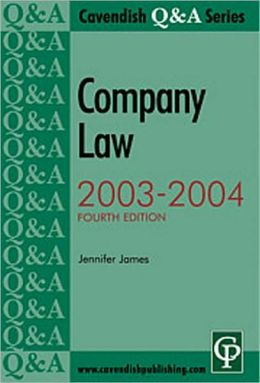 Company Law, 2003-2004
