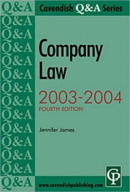 Company Law, 2003-2004