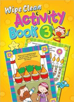Wipe Clean Activity Book 3