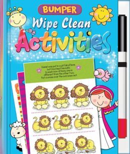 Bumper Wipe Clean Activities [With Marker]