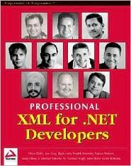 Professional XML for .NET Developers