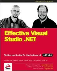 Effective Visual Studio .NET