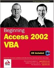 Beginning Access 2002 VBA