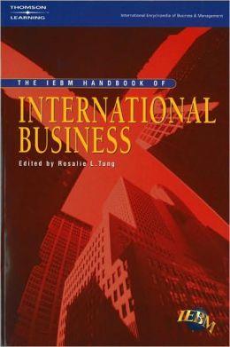 Iebm Handbook of International Business