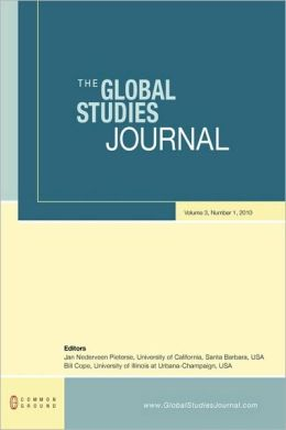 The Global Studies Journal: Volume 3, Number 1