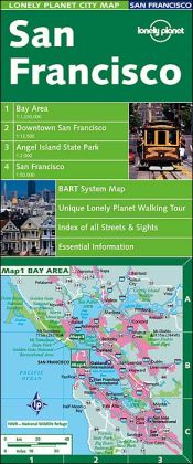Lonely Planet City Map: San Francisco (Lonely Planet City Maps Series)