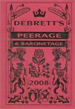 Peerage & Baronetage 2008