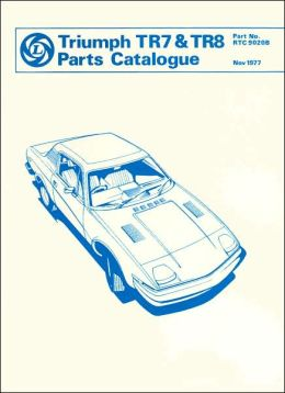 Triumph TR7 & TR8 Parts Catalogue