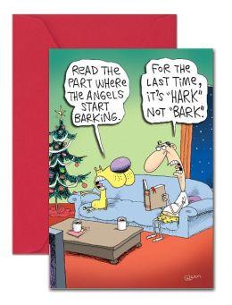 HARK NOT BARK CHRISTMAS BOXED CARD
