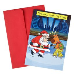 Prancing With The Stars Christmas Boxed Card
