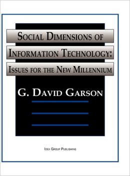 Social Dimensions Of Information Technology
