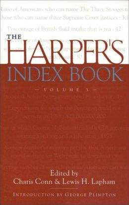 The Harper's Index Book Volume 3