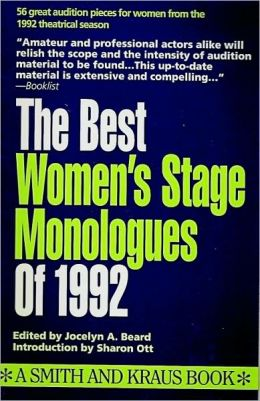 Best Women's Stage Monologues of 1992
