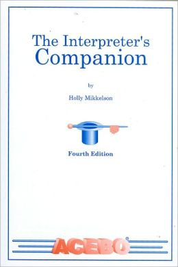 The Interpreter's Companion