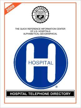 Hospital Telephone Directory 2009
