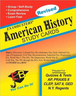 American History: Exambusters Study Cards
