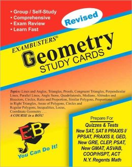 Geometry: Exambusters Study Cards