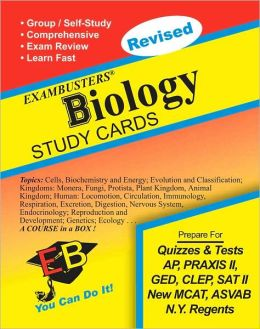 Biology: Exambusters Study Cards