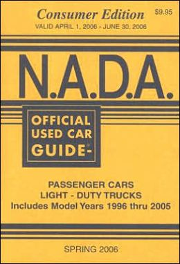 N. A. D. A. Official Used Car Guide