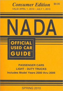 NADA Official Used Car Guide: Consumer Edition