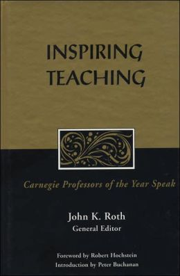 Inspiring Teaching: Carnegie Professors of the Year Speak