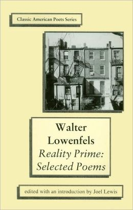 Reality Prime: Selected Poems