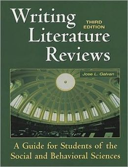 galvan writing literature reviews 5th edition Title / author type language date / edition publication 1 writing literature reviews : a guide for students of the social and behavioral sciences.