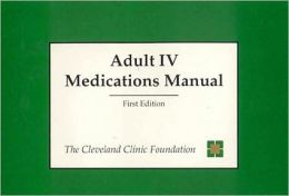 Adult IV Medications Manual