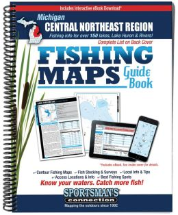 Michigan - Central Northeast Fishing Map Guide: Lake Maps and Fishing Information for over 150 Lakes in the Following Counties: Alcona, Alpena, Clare, Crawford, Iosco, Isabella, Midland, Montmorency, Ogenmaw, Oscoda, Presque Ilse, Roscommon,