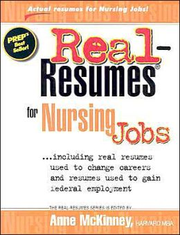 Real-Resumes for Nursing Jobs Anne McKinney
