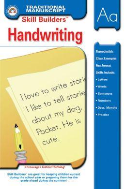 Traditional Manuscript Handwriting (Skill Builders Series)