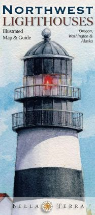 Northwest Lighthouses Illustrated Map and Guide