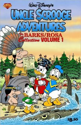 Barks/Rosa Collection, Volume 1: Uncle Scrooge: Land of the Pygmy Indians/War of the Wendigo!